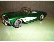 Chev Corvette diecast model.