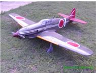 SCALE WWII KAWASAKI HEIN R/C MODEL AIRCRAFT with motor and servos