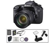 Canon EOS 7D Digital SLR Camera with 18-135mm Lens & Basic A