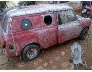 1964 mini panel van r6000 as is
