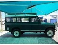 1968 Land Rover Series 2 Stationwagon