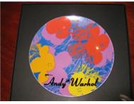 ANDY WARHOL LIMITED EDITION WALL PLATE