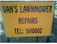 Van s Lawnmower Repairs and Spares